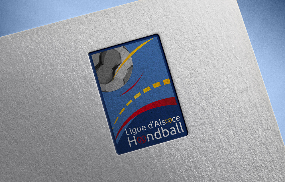 Création du Logo Ligue Alsace de Handball